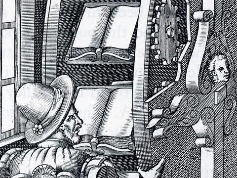 Agostino Ramelli bookwheel